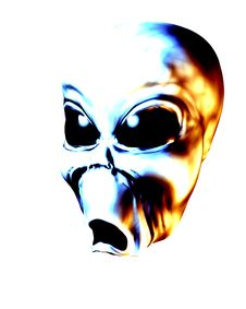 Free Alien Face 2 Stock Images - 2366744