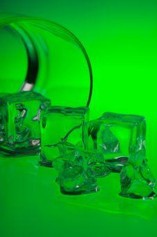 Free Ice On Green Stock Photos - 2366953