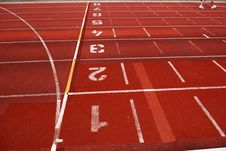 Free Tracks Lanes Number Royalty Free Stock Images - 2367429