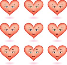 Free Cute Hearts Stock Photos - 2367523
