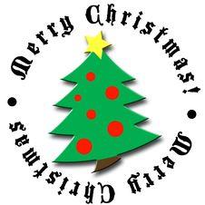 Free Christmas Tree Design 2 Royalty Free Stock Photo - 2367565