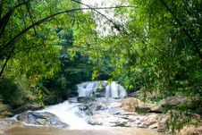 Free Waterfall In The Wilderness Royalty Free Stock Image - 2368006