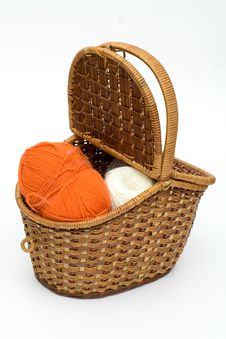 Free Fashion Basket Royalty Free Stock Image - 2368926