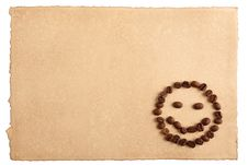 Free Paper And A Smiling Face Stock Photo - 23600210