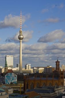 Free Berlin View Royalty Free Stock Images - 23600879