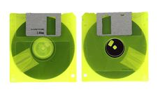 Free Old Diskette Stock Images - 23601034