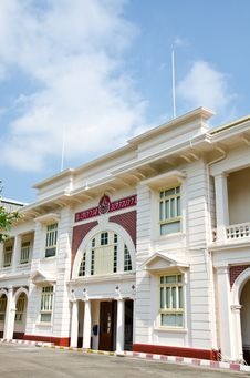 Free Thai Red Cross Building. Royalty Free Stock Image - 23601606