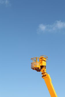 Free Cherry Picker Royalty Free Stock Photography - 23602047