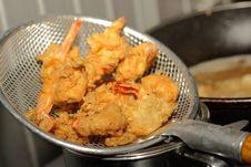 Free Prawn Meal Preparation Stock Image - 23603951