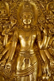 Free Buddha Statue , Thailand Royalty Free Stock Photo - 23604905