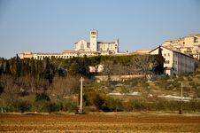 Free Basilica, St Francis Of Assisi Royalty Free Stock Photos - 23606288