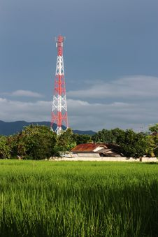 Free Telecommunication Tower Royalty Free Stock Photos - 23607438