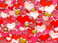 Free Seamless Valentine&x27;s Day Pattern. Stock Photography - 23612822