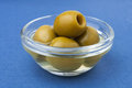Free Green Olives In A Bowl Royalty Free Stock Photography - 23615137