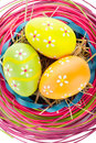 Free Easter Eggs And Decoration Stock Image - 23616761