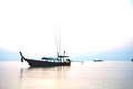Free Silhouette Fishing Boat Royalty Free Stock Photo - 23619755