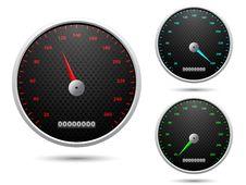 Free Speedometer Royalty Free Stock Photo - 23611525