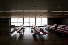 Free Waiting Site In Airport Royalty Free Stock Photos - 23611528