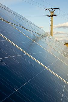 Free Solar Panel Royalty Free Stock Photos - 23616238