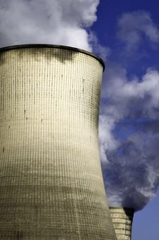 Free Cooling Tower Stock Photography - 23617182