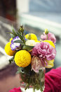 Free Bunch Of Flowers In A Glass Jar Stock Photo - 23620240