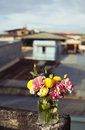 Free Bunch Of Flowers In A Glass Jar Stock Photos - 23620253