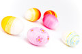 Free Colorful Easter Eggs Stock Photography - 23621502