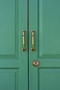 Free Green Door Close Up Royalty Free Stock Photography - 23625907