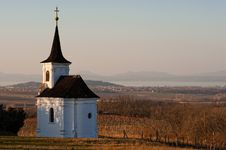Free Small Church And Balaton Royalty Free Stock Photo - 23622405