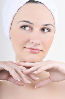 Free Beauty Spa Treatment Woman Stock Photo - 23623560