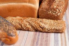 Range Of Bakery Products Royalty Free Stock Photo
