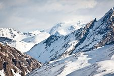 Free Alps In Winter Stock Images - 23625734