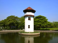 Free Old Prison Tower In The Park Royalty Free Stock Photo - 23626105