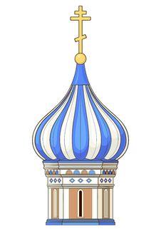 Free Russian Church Stock Image - 23627841