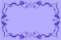 Free Lilac Abstract Color Frame Royalty Free Stock Image - 23630596