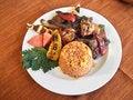Free Pork Barbecue Dish Royalty Free Stock Photo - 23632225