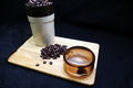 Free Coffee Beans And Grinder Royalty Free Stock Photos - 23632318