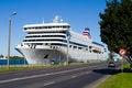 Free Passenger Ferry In Marine Port Of Riga, Latvia Stock Photo - 23633310