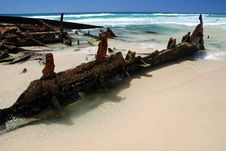 Free Maheno Shipwreck Royalty Free Stock Images - 23631129