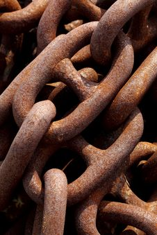 Free Rusty Chain Texture Royalty Free Stock Images - 23635189