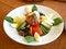 Free Green Salad With Tuna Stock Photos - 23630453