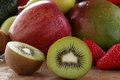 Free Green Kiwi Chopped Royalty Free Stock Photo - 23641855