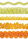 Free Slices Of Various Citruses Royalty Free Stock Photo - 23643435