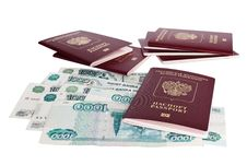 Free Passports Of Russian Federation Stock Photo - 23642270