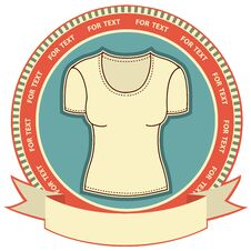 Free Clothes Label Set On White. Stock Photography - 23642672