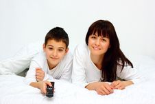 Free Mother And Son Stock Photos - 23646023