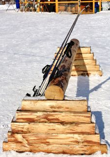 Free Ski In The Sun Royalty Free Stock Photos - 23648768