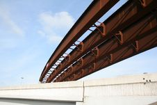 Free Steel Girders Royalty Free Stock Photos - 23649148