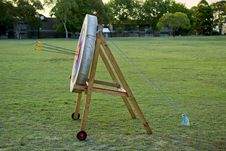 Archery Shooting Target Royalty Free Stock Photography