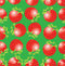 Free Seamless Background With Strawberries Royalty Free Stock Photos - 23647308